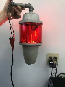 Pioneer Federal Signal Beacon Ray Model 27 Rotating Light Works Great