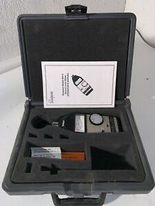 Simpson Model 884 2 Sound Level Meter Type S2a W Carrying Case