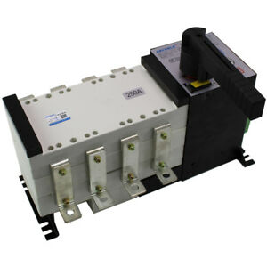 Dual Power Automatic Transfer Switch 2 in 2 out 4p 200a Ats Isolated Pc Switcher