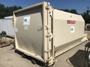 Ptr Pt330 Self containted 30yd Trash Compactor 41 x60 Opening Garbage Recycling