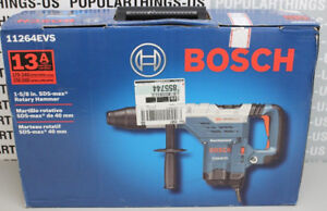 New Bosch 1 5 8 Sds Max Rotary Hammer 11264evs W case