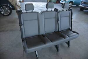2017 Ford Transit Van Grey Rear Bench Seat Passanger Van