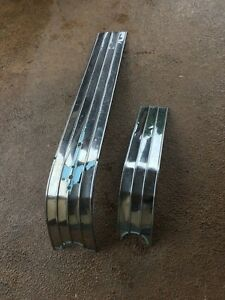1953 1954 Pontiac Chieftain Catalina Hood Molding Trim Waterfall Molding Chrome
