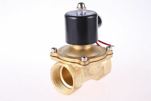 12v 2 Way 2 Pos Switch Electric Solenoid Valve Water Air Gas Devices 2w250 25