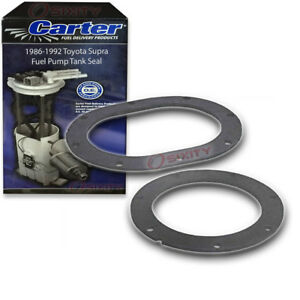 Carter Fuel Pump Tank Seal For 1986 1992 Toyota Supra 3 0l L6 O Ring Gas Rd