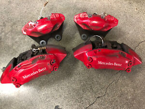 2000 Mercedes Ml55 Amg W163 Brembo Calipers Front And Rear Used