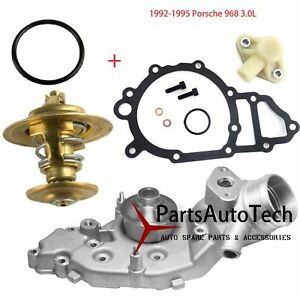 Engine Water Pump Thermostat Porsche 944 S Base 3 0l 968 Premium Quality