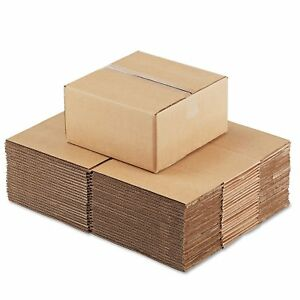 General Supply Brown Corrugated Fixed depth Shipping Boxes