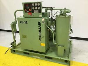 Sullair 50 Hp Air Compressor Ls12 50h w sul Used 98378
