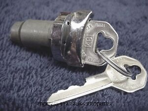 New Ignition Switch Lock Cylinder With Gm Keys Corvair 61 62 63 64
