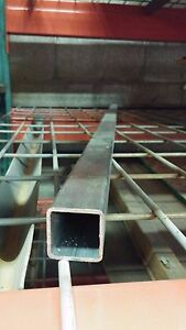 1 X 1 065 Wall Stainless Square Tube 84 Length