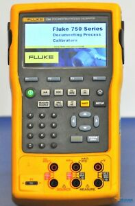 Fluke 754 Documenting Process Calibrator Hart Nist Calibrated With Warranty
