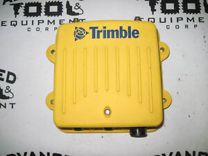 Trimble Machine Control Radio Model Snr921 900hz And 2 4ghz Gps Antenna