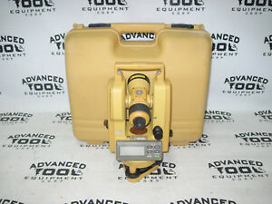 Topcon Dt 209l Optical Digital Theodolite W Laser And Carrying Case Dt 200