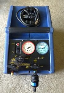 Pinnacle Oil less Model 5115 Refrigerant Recovery Machine W Operation Manual