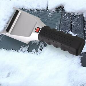 Electric Car Auto Heated Ice Snow Defrost Scraper Windshield Removal Shoveling