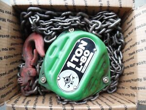 Jet Equipment Tools 1 Ton Chain Hoist L 80 15 Lift Shows Little Signs Of Use