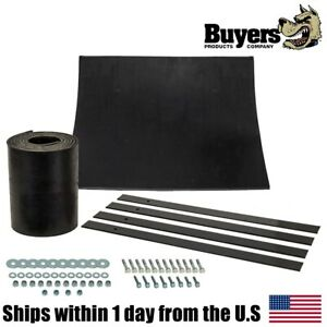 Universal Snow Plow Deflector Kit For Boss Plow Blade Power Straight Poly V