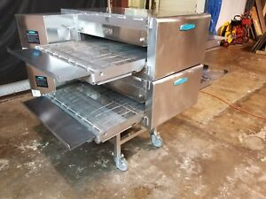Turbochef Hhc2620 Double Stack Ventless Conveyor Pizza Oven video Demo
