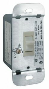 Tork 24 277vac Electronic Wall Switch Timer Max On off Cycles 1 White White