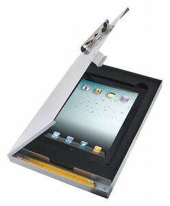 Saunders Letter size Clipboard With Low Profile Clip Aluminum Silver 45450