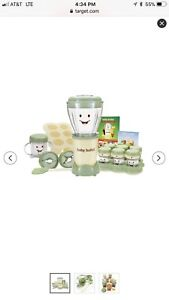 NEW Magic Bullet Baby Bullet Food Making System 20 pc MAKE YOUR OWN BABY FOOD