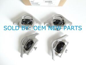 Oem Utili Track Bed Tie Down Cleat Set Of 4 For Nissan Frontier Titan New
