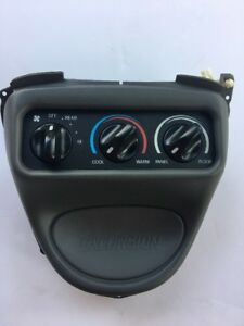 Temperature Control Front Console Overhead 00 05 Ford Excursion Yc3h19e764aa