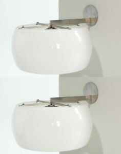 Artemide Wall Lamp Clinio 1961 Vico Magistretti Pair Rare Applique