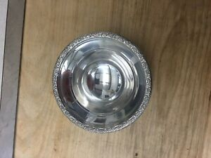 Sterling Silver Nut Or Candy Dish Amston Silver Co