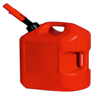 Midwest Can Company 6gal Red Poly Gas Can 6610
