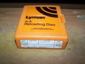 RELOADING DIES LYMAN 3 PIECE PISTOL SET 44 SPECIALMAG NEW OLD STOCK NEVER USED