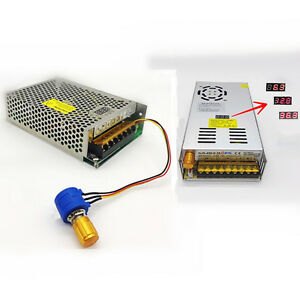 Ac110 220 To Dc 0 36v Adjustable Switching Power Supply With Digital Display Led