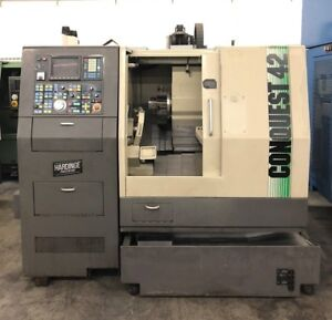Hardinge Conquest 42 Cnc Turn Mill Center Lathe W live Tool C Axis Mori Daewoo