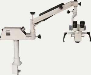 Dental Portable Microscope With Beam Splitter C mount And Ccd Digital Camera