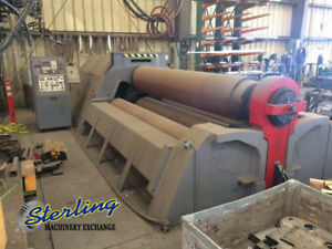 2 X 10 Used Malco 4 Roll Plate Roll Cli Hy 4r C5048