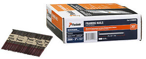 Paslode Framing Nail Smooth Brite 30 Degree 3 in X 120 2 500 ct 650836