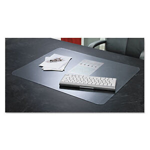 Krystalview Desk Pad With Microban Matte Finish 36 X 20 Clear 60640ms 1