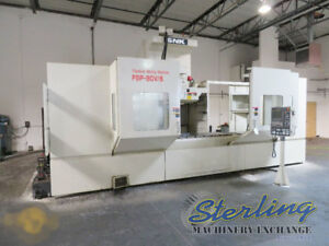 90 X 33 X 27 Used Snk 5 axis Cnc Vertical Machining Center Mdl Fsp 80v Cd