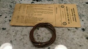 Nos 9320 Speedometer Cable 59 1 32 Chrysler Dodge 48 49 50 51 52