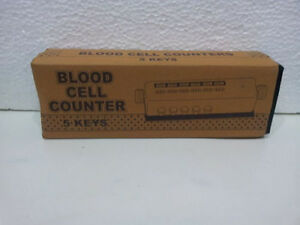 Blood Cell Counter 5key Mechanical Cell Counter Count Blood Cell Lab Equipment1