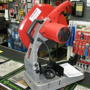 Milwaukee 6177 20 Abrasive Chop Saw 14 New