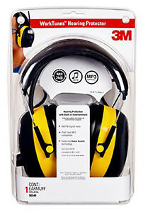 3m Hearing Protector Earmuff With Am fm Radio 90541 4dc