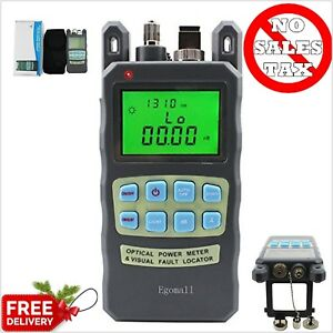 Meter Sockets Fiber Optic Cable Tester Visual Fault Locator Portable Connector