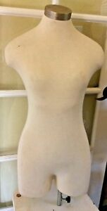 Vintage Ladies Mannequin 34 Length Removable Cloth Strong Dress Form