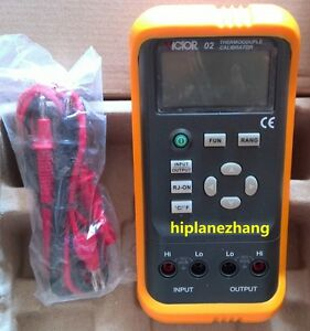 Hi accuracy 0 05 Thermocouple Calibrator Output R S B E K J T N