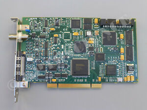 National Instruments Pci 1410 Ni Imaq Video Frame Grabber Card