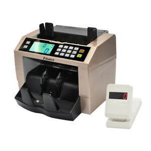 Portable Bill Counter Money Counting Machine Cash Currency Banknote Uv Mg S2q1