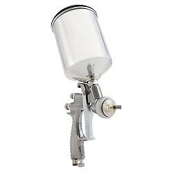 Sharpe 288887 Finex Fx2000 Gravity Feed Conventional Spray Gun With 1 8mm Nozz