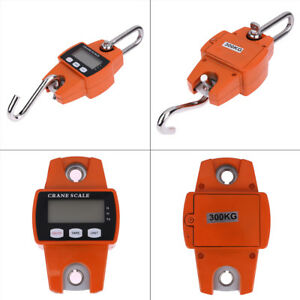 Mini Crane Scale Portable Lcd Display Digital Electronic Hook Hanging Weight